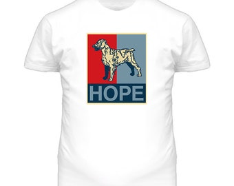 Brittany Custom Dog Breed Hope Parody T Shirt