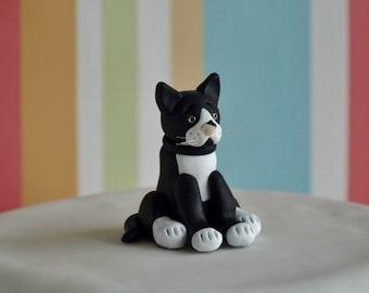 Cat Cake Topper - Cat Wedding Cake Topper - Cat Birthday Cake Topper - Custom Cat Cake Topper - Cat Figurine -