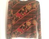 Vintage Retro Long Sleeve Shirt
