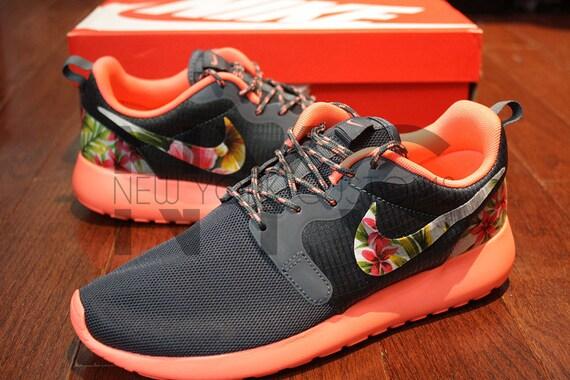 50%OFF Nike Roshe Run Hyperfuse Bright Mango Magnet Grey by