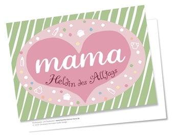 Muttertag Geburtstag Karten, 2 Karten