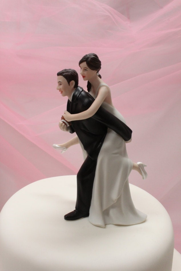 dirty wedding cake toppers custom wedding cake topper football by 13537