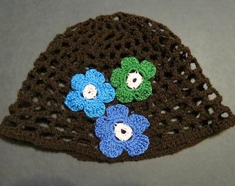 Vintage - looking Net Hat