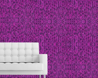 HOT PINK SWEATER - Self adhesive removable wallpaper by GraphicsMesh