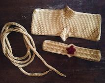 Wonder Woman inspired accessory kit - wonder woman costume