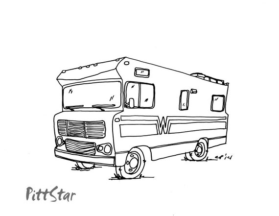 motorhome coloring pages - photo#14