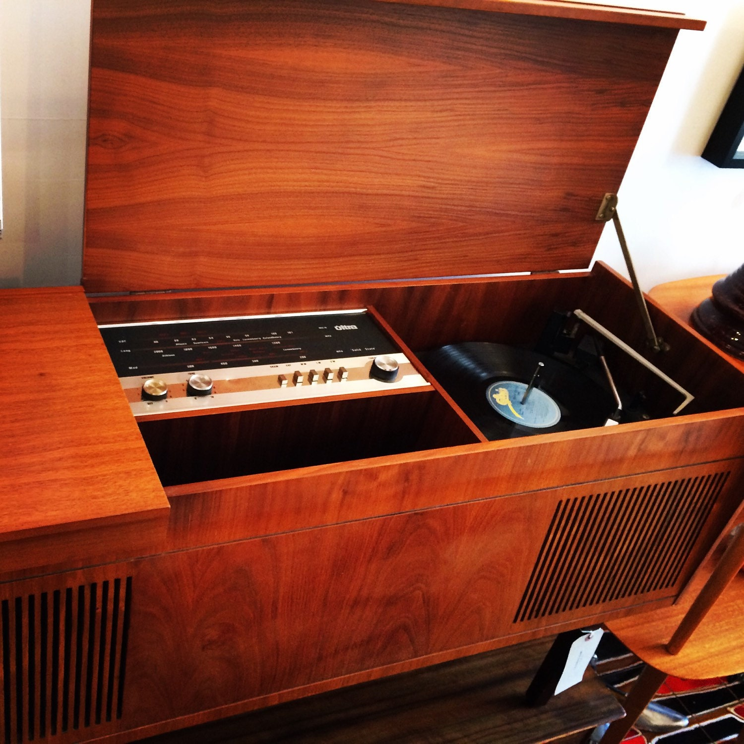 Vintage Record Player eBay