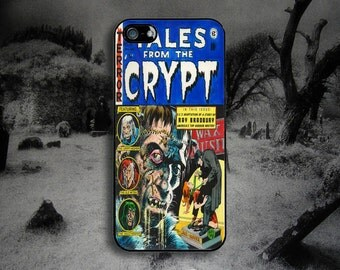 Vintage Horror Comic - Tales from the Crypt -  iPhone & Samsung Protective Phone Case