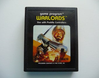 Vintage 1980's Warlords Game For Atari 2600
