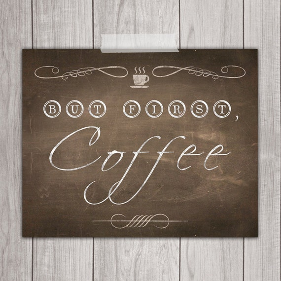 75 off sale but first coffee 8x10 kitchen decor coffee for Kitchen design 8x10