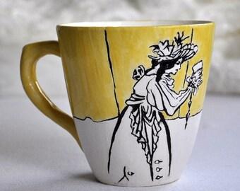 Cup Aubrey Beardsley
