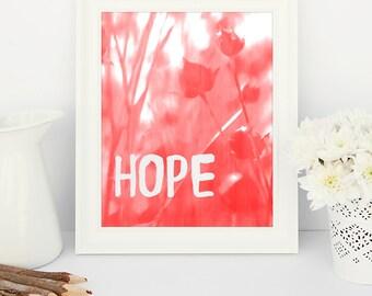 Hope -  8x10 printable