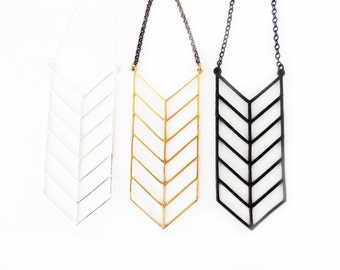 Chevron Stack Necklace