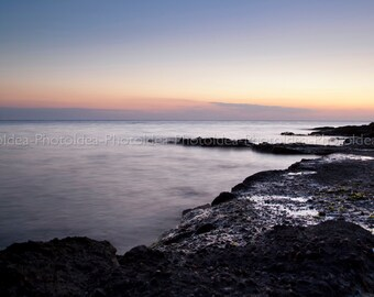 Sea landscape fine art photography print for wall decor