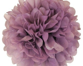 Orchid Purple Tissue Paper Pom Pom 12inch TPP120096 Just Artifacts Brand