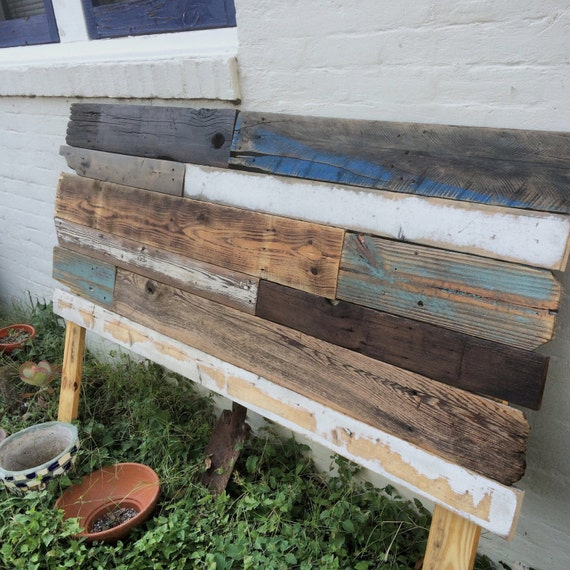 custom reclaimed wood headboard local pickup only by