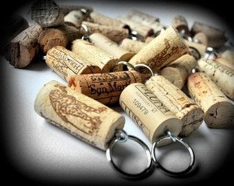 Wine cork favor | Etsy