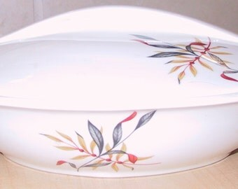 Vintage Iroquois Covered Devided Dish
