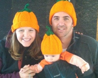 Pumpkin hat for Adults