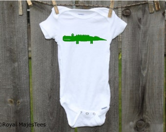 Crocodile Alligator Onesies®, Crocodile Baby Shower