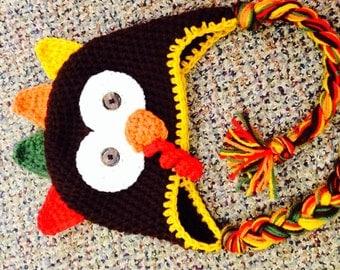 Thanksgiving turkey hat
