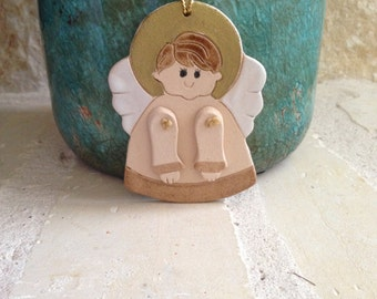 Angel Ornament Angel Christmas Ornament Handcrafted Ornament