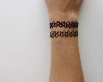 Tattoo Choker Bracelet