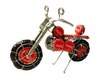 Coke Bottle Top Motorcycle