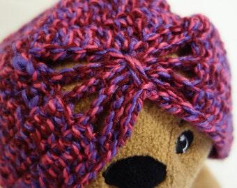 Handmade Crochet Retro Inspired Ladies Hat