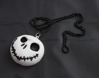Jack skellington necklace.