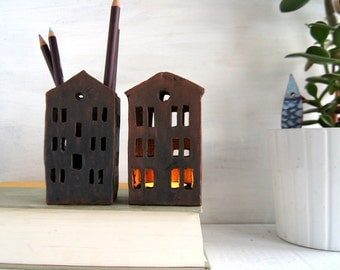 Office Decor-Pencil Holder-Ceramics-Ready To Ship
