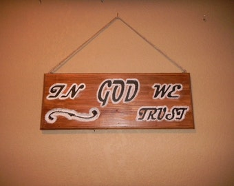 Great wall hanging conveying a great message. Noted is made from reclaimed Cedar. Also available in Red Oak, Poplar or Pine selected finish.