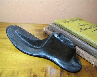 Vintage Cast Iron Cobblers Shoe Form