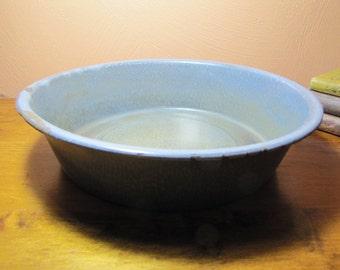 Vintage Gray Graniteware Pan