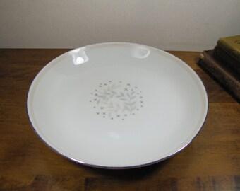 Vintage Jyoto Fine China Shallow Bowl - Stella Pattern 8060