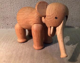 Kay Bojesen the elephant in oak