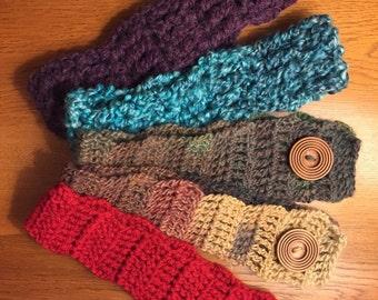 Headbands / Warmers Crocheted
