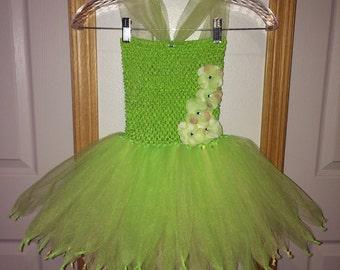 Tinkerbell Costume Halloween Costume Bright Green