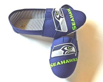 Seahawks Slip On Shoes, Womens Seahawks Shoes