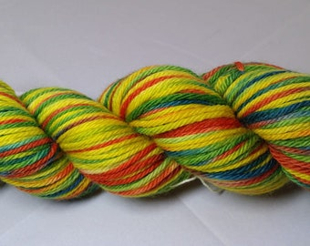 I Done Did That-hand dyed worsted weight yarn-Township (218 yards)