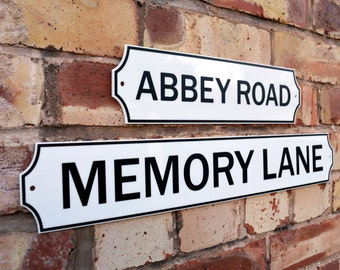 Personlised Old English Street Sign - CUSTOM MADE