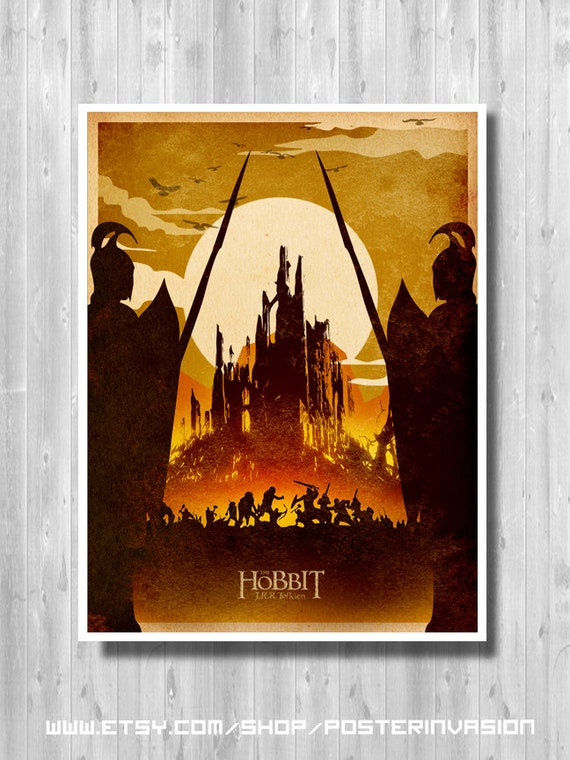The Hobbit Movie poster Battle of the five by PosterInvasion