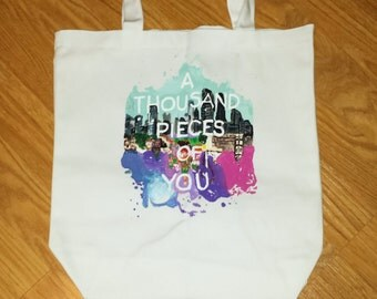 A Thousand Pieces of You tote