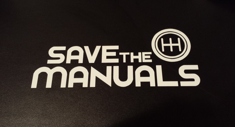 Save The Manuals Save The Manuals Manual Guide