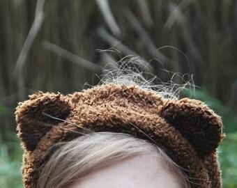 Ear warmer, ear muffs, warm headband: Bear ears