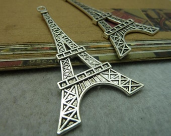 5pcs 36x70mm Eiffel Tower Charms A