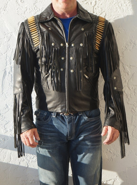 Unique Leather Jacket - Jacket