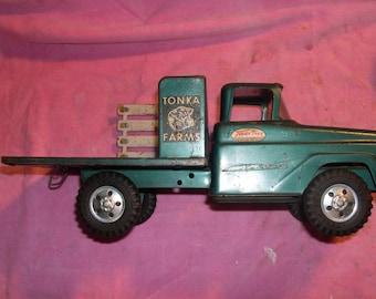 Tonka Farm Truck with Stake Body