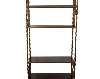 etagere metal etsy. Black Bedroom Furniture Sets. Home Design Ideas