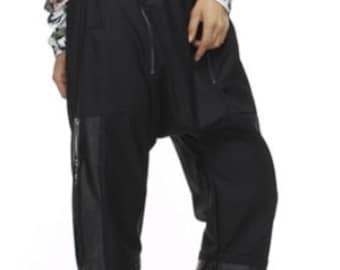Black Harem Pant